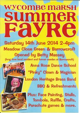 Wycombe Marsh fayre to raise money for community centre