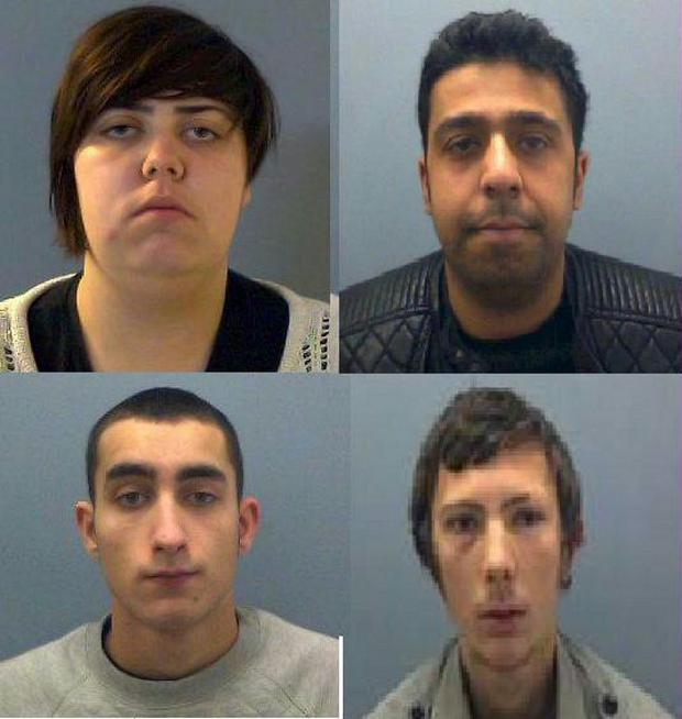 Bucks Free Press: Four sentenced following spate of robberies