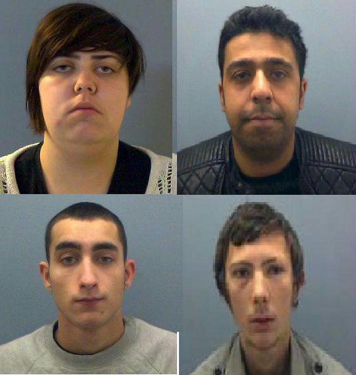 Four sentenced following spate of robberies