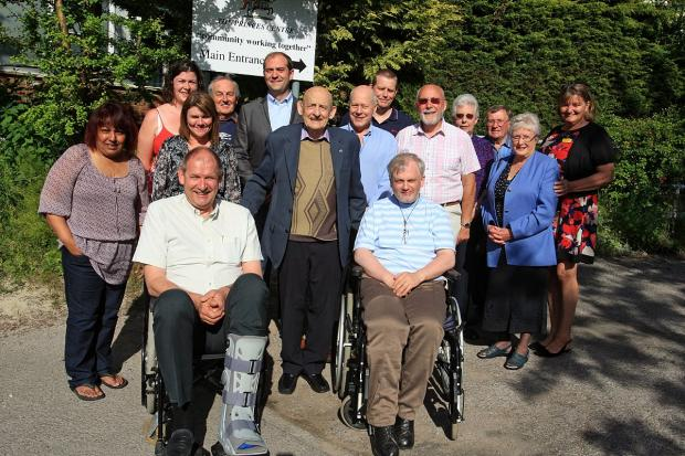 Day centre celebrates two years