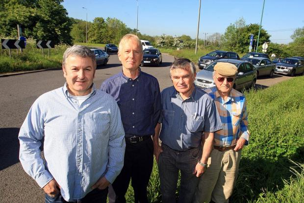 Residents raised fears over the new plans last month before the changes were dropped by the Highways Agency