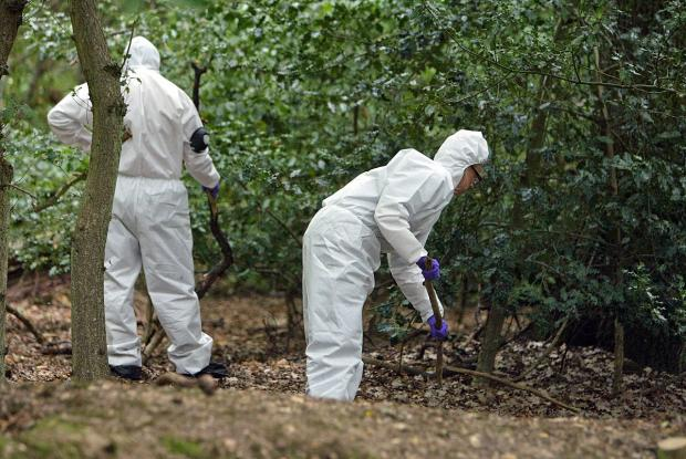 Bucks Free Press: Forensic teams comb the scene in 2006