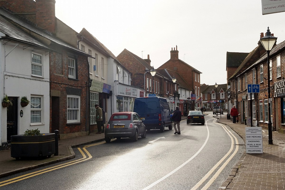 Duke Street in Princes Risborough