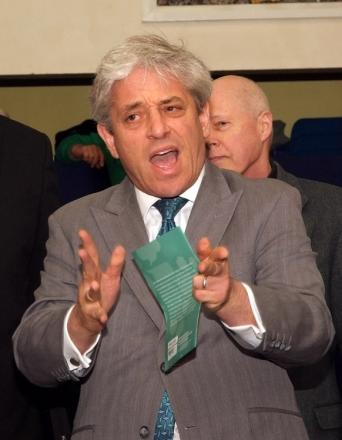 23 July, 2014: John Bercow MP
