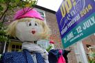 Scarecrows promote Downley's first Village Fesitval