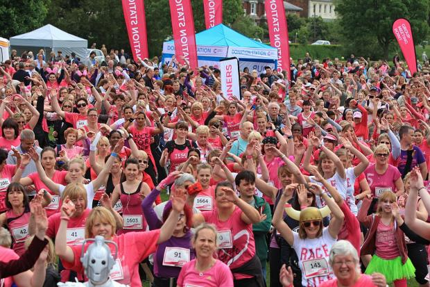 Last year's Race for Life