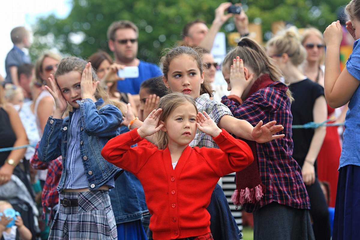 Promising start to Downley's first Village Festival