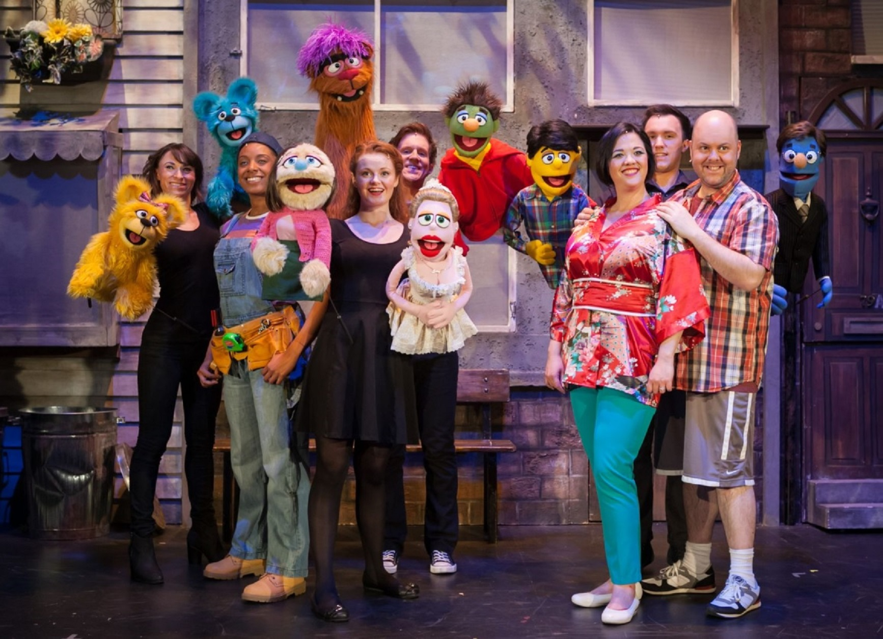 Theatre Review: Avenue Q at Wycombe Swan