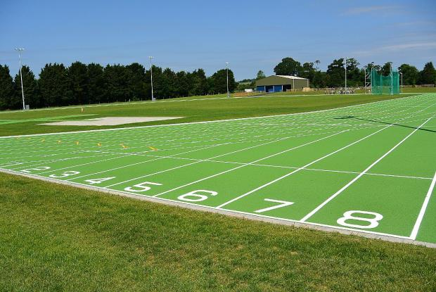 Countdown on to running track opening