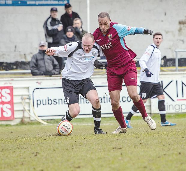 Simon Thomas has unfinished business at Chesham