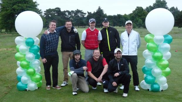 Mammoth 100-hole golf day raises £5k for charity