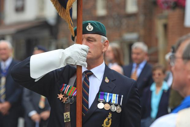 Bucks Free Press: Town holds its biggest ever Armed Forces Day celebrations