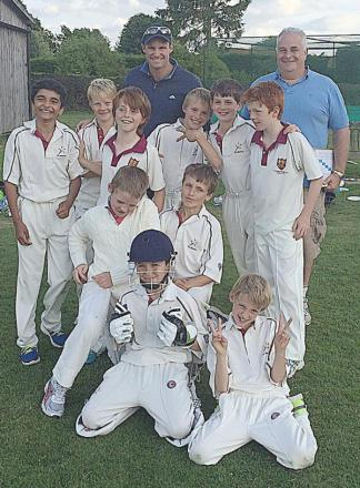 Andrew Strauss was at Ballinger Waggoners' U10s game with Marlow