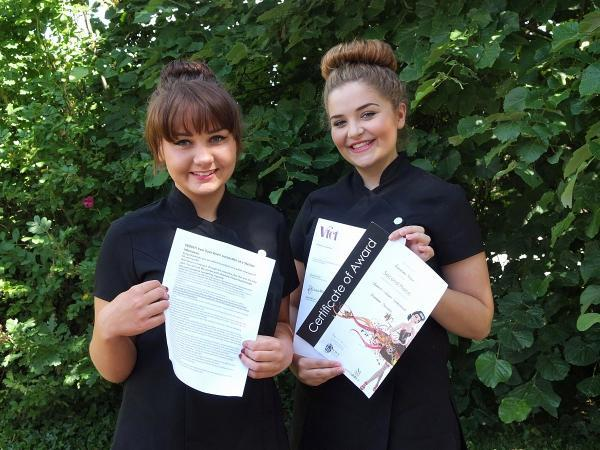 Hazlemere beauty students achievements will 'inspire others'