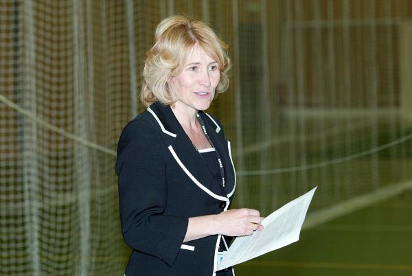 Wycombe High School headteacher Sharon Cromie