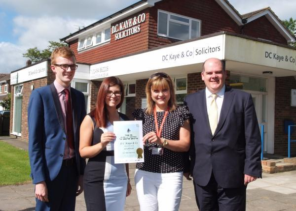 Solicitors raise thousands through will-making charity