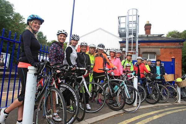 Cycle path activists were instrumental in winning the funding for the changes