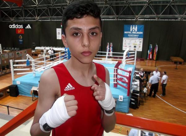 13-yr-old pupil Hungary for more after clinching European boxing gold