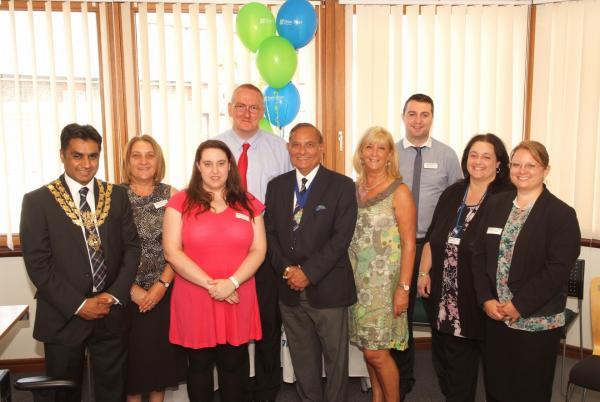 Dignitaries attend Wycombe charity's employment workshop