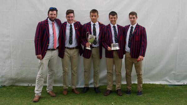 Robin Dowell, Director of Rowing SWBGS, Rufus Biggs, Chris Lawrie, Angus Warren, Fraser Russell