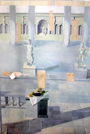 BNU lecturers left baffled by mystery mural