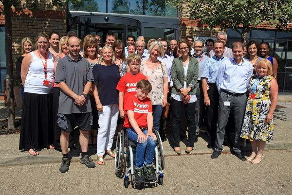 Sporty Wycombe boy with muscular disease handed wheelchair by firm