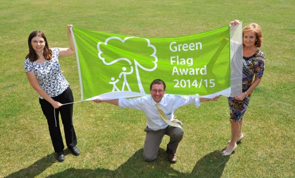 Park awarded coveted 'Green Flag' status for eleventh year running