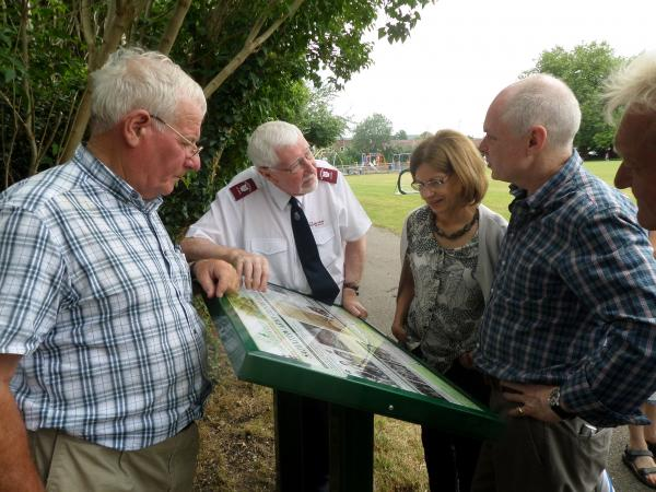 Park's historical Heritage Trail unveiled