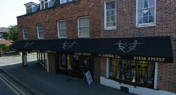 The Jolliffes' shopfront has been a familiar sight in Marlow town centre for 45 years