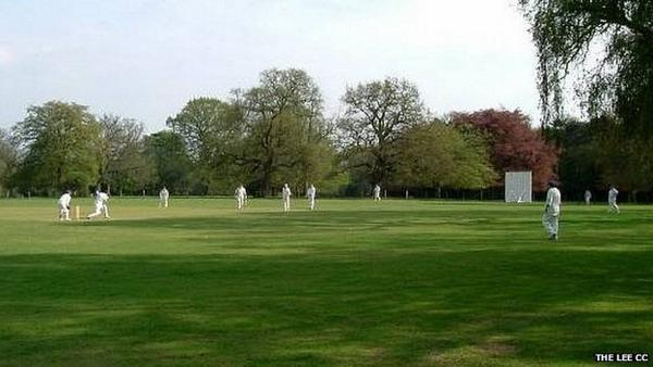 The venue for Sunday's match, The Lee Cricket Club