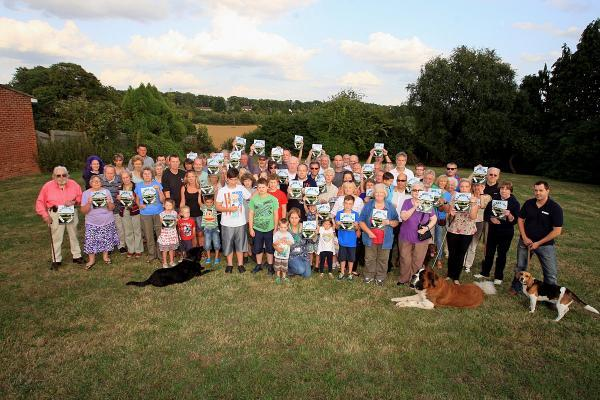 Residents living near Gomm Valley oppose plans to release the rural area to meet growing housing demands