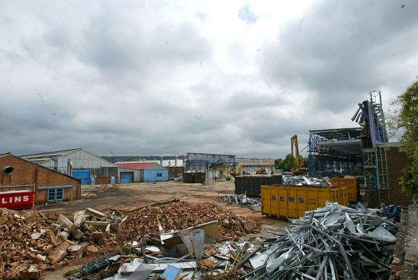 Pictures from the time Molins site was demolished