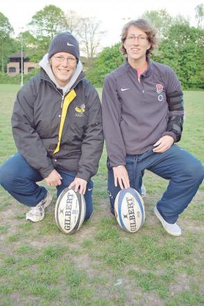 Chesham coaches and England stars Rochelle Clark and Kat Merchant will play in the World Cup Final on Sunday.