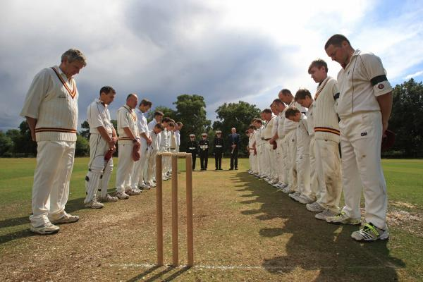 'War stops play' cricket match finally completed