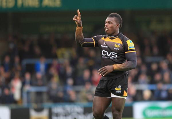Christian Wade starts for Wasps tomorrow