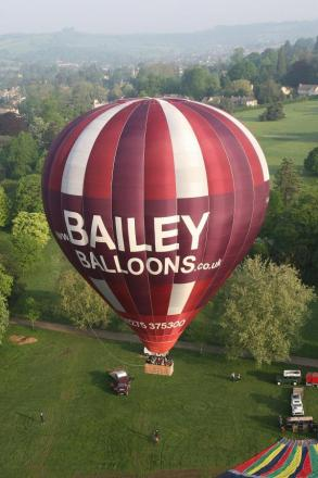 Hot air balloon rides are one of the attractions at next weekend's Chalfont St Giles Show