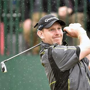 Stephen Gallacher was battling to make the Ryder Cup team in Turin