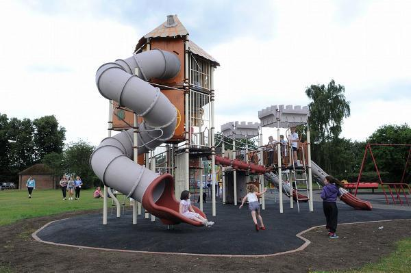 More money needed to complete playground work