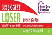 Hospice charity seeks 'Biggest Loser' of 2015