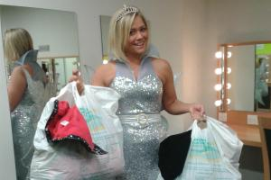 Panto star urges people to de-clutter for charity
