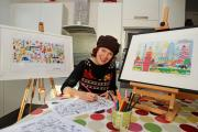 Marlow artist billed alongside Mary Berry at festive department store event this weekend