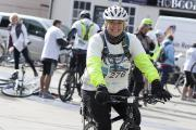 Fern Britton taking part in the annual challenge last year
