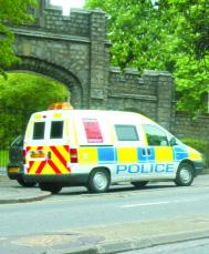 Controversial cameras: A mobile speed camera on Marlow Hill
