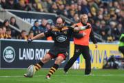 Andy Goode has racked up the points for Wasps this season.