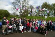 The first ever sponsored Angel Walk, in 2012, was a huge success.