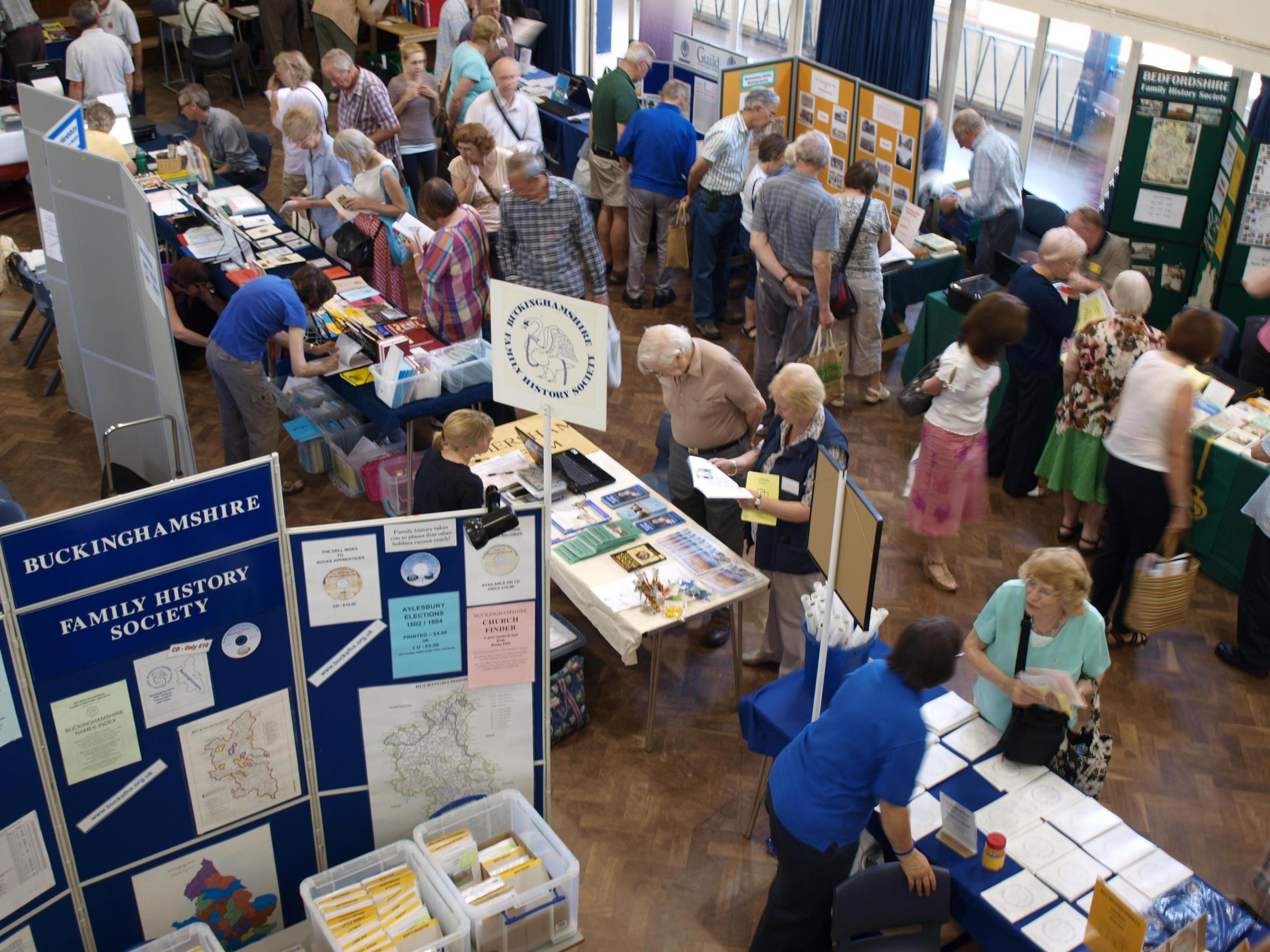 Buckinghamshire Family History Society Open Day