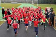 Ready, get set, go: dozens of pupils officially open Wycombe District Athletics Complex