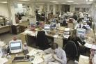 The Bucks Free Press newsroom