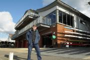 Marlow Rowing Club chairman Peter Hunt outside new HQ