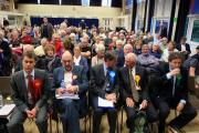 Beaconsfield hustings: what was said to get the biggest audience reaction?